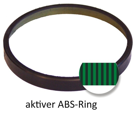 aktiver ABS-Ring